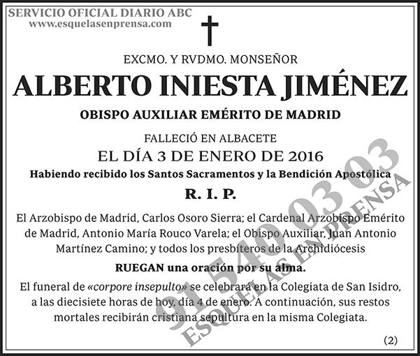 Alberto Iniesta Jiménez